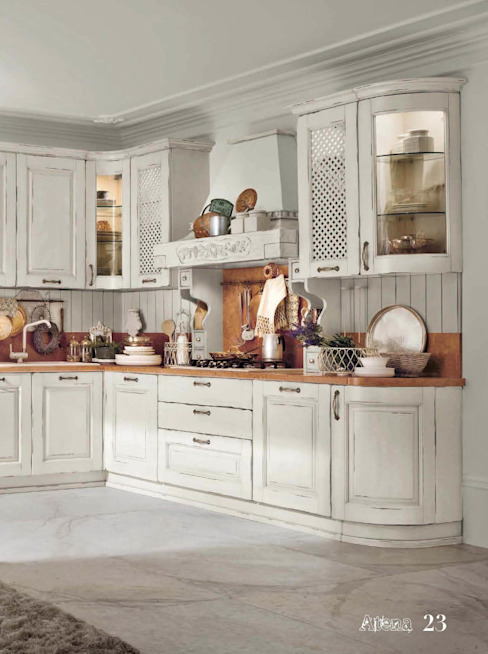 Küche von ROMANO MOBILI dal 1960, Rustikal