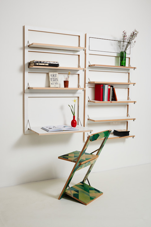 KwiK Designmöbel GmbH Living roomShelves