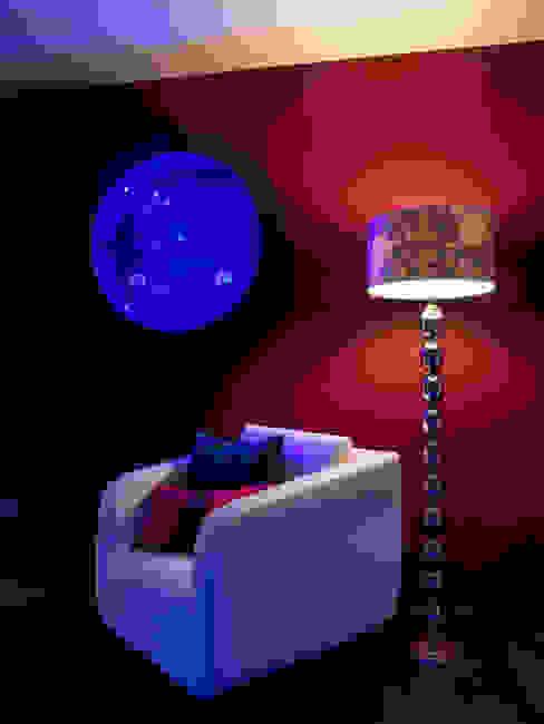 Luxury Penthouse London Modern style bedroom by Quirke McNamara Modern