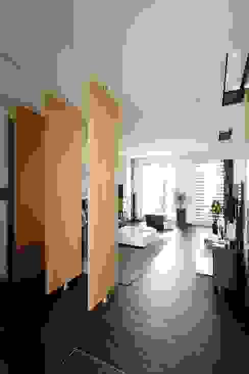 Minimalistische huizen van in_design architektur Minimalistisch