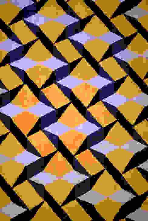 Tiles desenhada por Domingos Ferreira por homify Moderno Lã Laranja