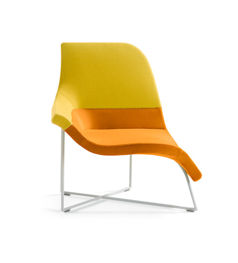 Gemini by UNStudio / Ben van Berkel (a dynamic seating element) de Artifort