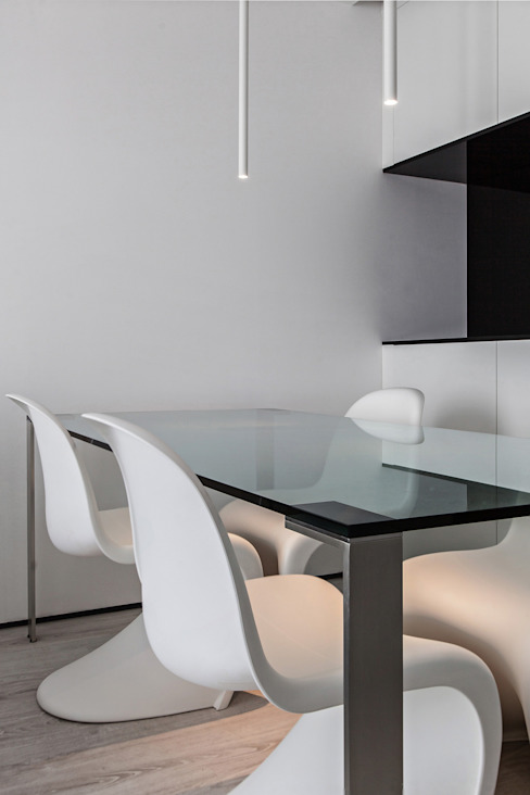 Comedores de estilo moderno de Arch. Andrea Pella Moderno