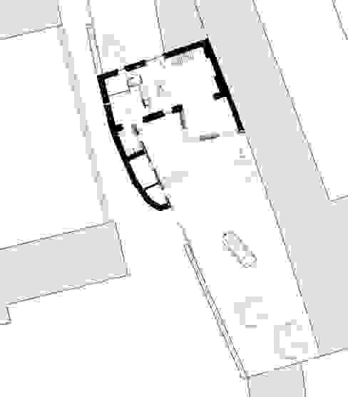 Nhà: thiết kế nội thất · bố trí · ảnh bởi Jean-Charles CASTRIC - architecte D.P.L.G.