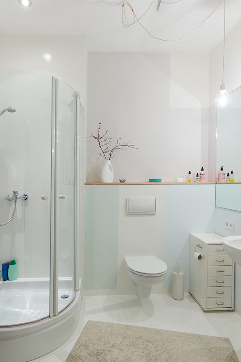 Berlin Interior Design 스칸디나비아 욕실