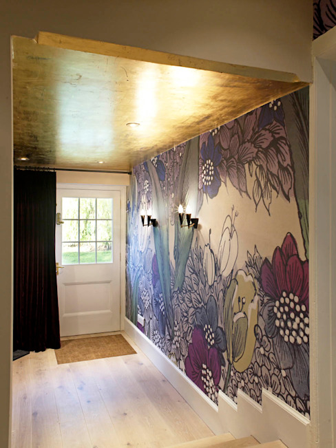 Hallway, The Wilderness, Wiltshire, Concept Interior by Concept Interior Design & Decoration Ltd Еклектичний