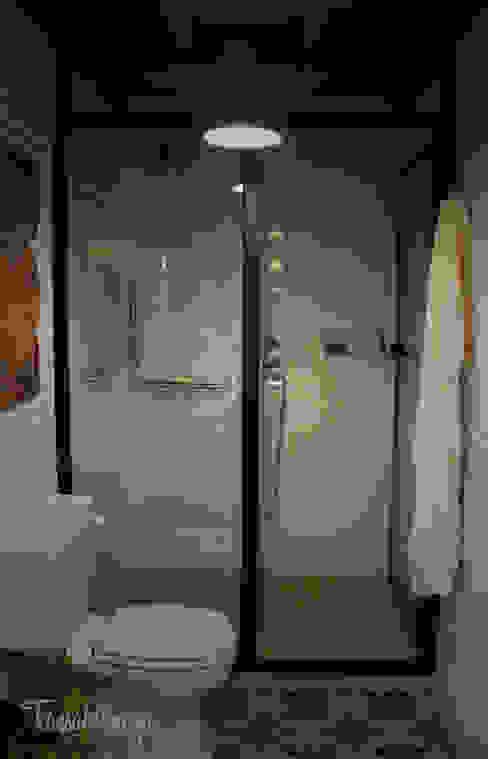 Salle de bain rustique par Diseñadora de Interiores, Decoradora y Home Stager Rustique