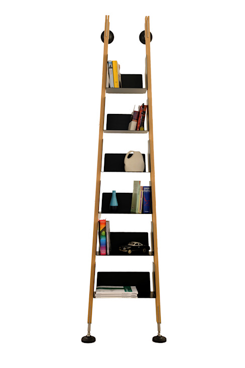 BOOKCASE S1 gianluca facchini Living roomStorage