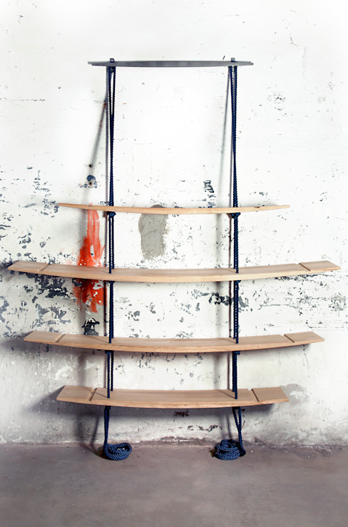 Architetto ANTONIO ZARDONI Living roomShelves