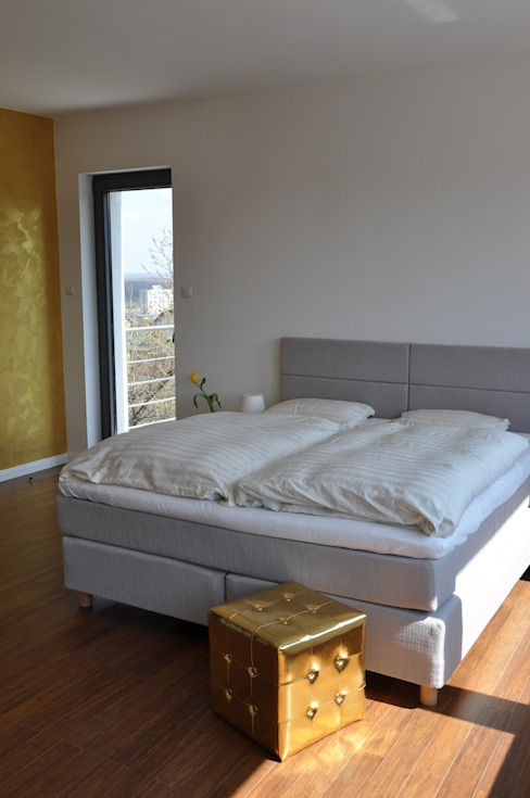 Moderne Schlafzimmer von Pracownia Projektowa Ola Fredowicz Modern