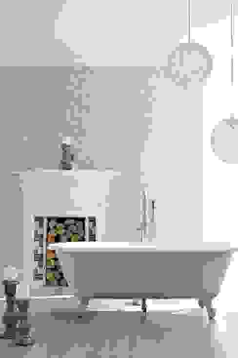 Azule Ivory Nowoczesna łazienka od Prestigious Textiles Nowoczesny