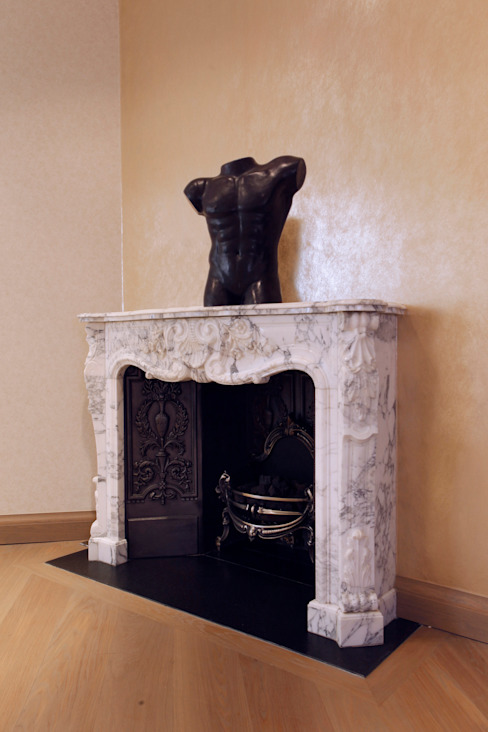 Fireplace 모던스타일 주택 by Roselind Wilson Design 모던