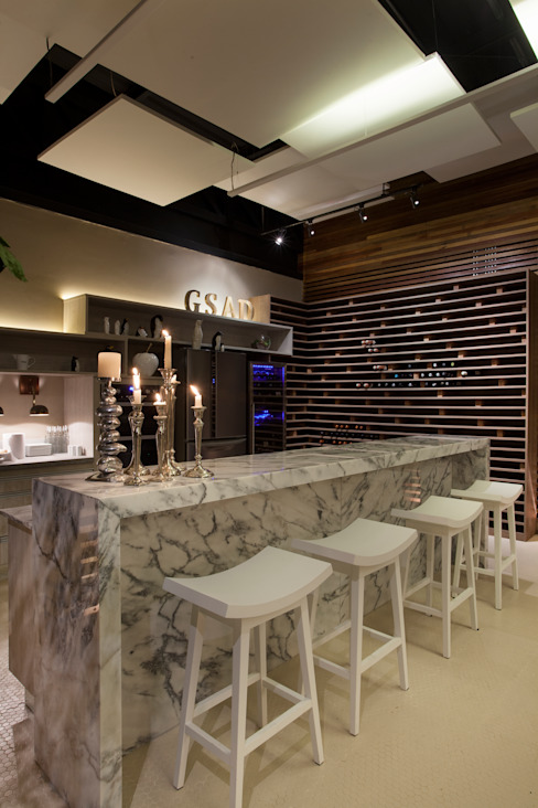 Rustieke gastronomie van Guardini Stancati Arquitetura e Design Rustiek & Brocante