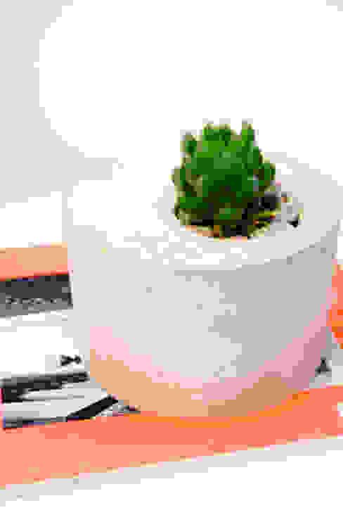 Pflanzenkübel aus Beton: industriell  von Tante Ephraim,Industrial