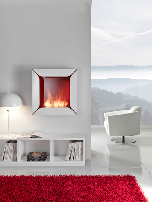 ELEMENTO 3 DISEÑO SA DE CV Living roomFireplaces & accessories