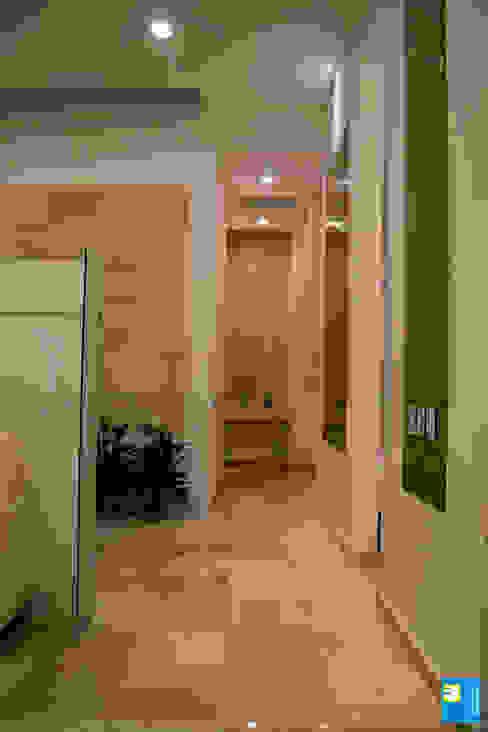 pasillos Pasillos, vestíbulos y escaleras modernos de Excelencia en Diseño Moderno