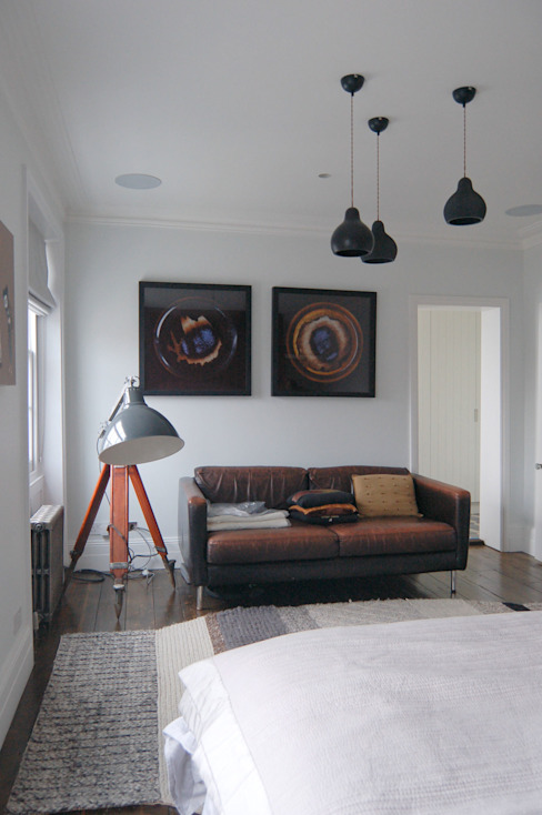 Bedroom by Emmett Russell Architects