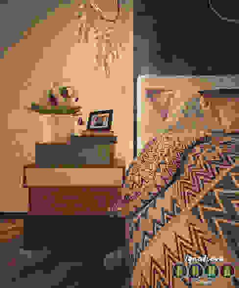 에클레틱 침실 by Дизайн-студия Анны Игнатьевой 에클레틱 (Eclectic)