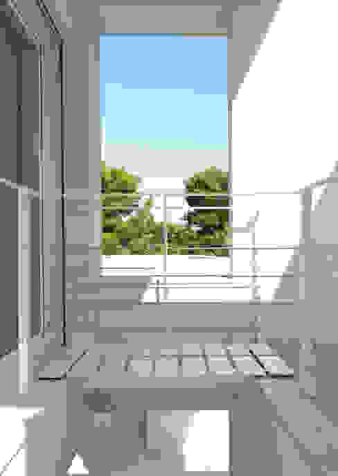 Villa Di Gioia, Casa Passiva Mediterranea Case in stile mediterraneo di Pedone Working Group Mediterraneo