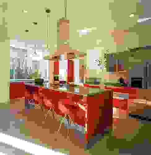 Cocinas de estilo moderno de Taller Luis Esquinca Moderno