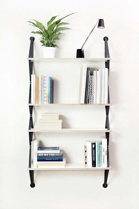 backpack wallshelf di fifti-fifti Moderno
