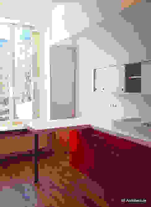 Nhà bếp by 3B Architecture
