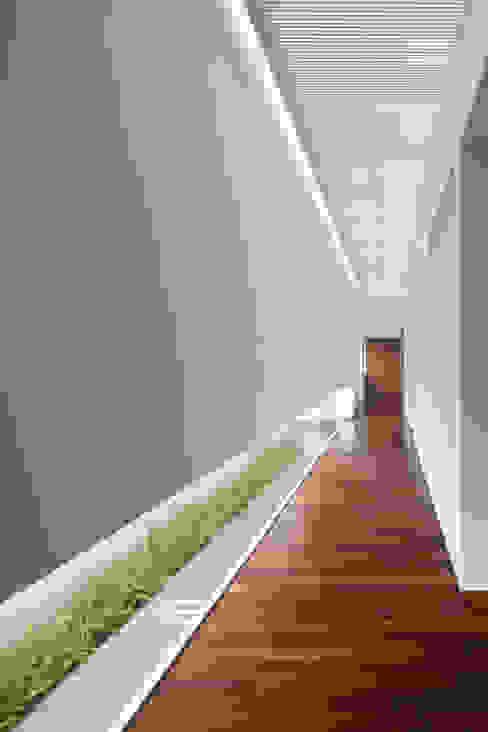 Couloir et hall d'entrée de style  par Hernandez Silva Arquitectos, Moderne
