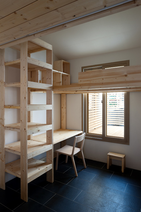 Dormitorios infantiles de estilo  por 무회건축연구소