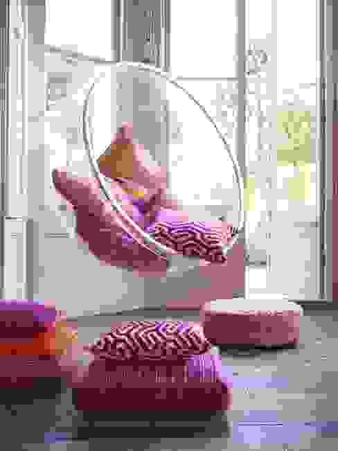 Roco cam Salas de estar mediterrânicas por Prestigious Textiles Mediterrânico
