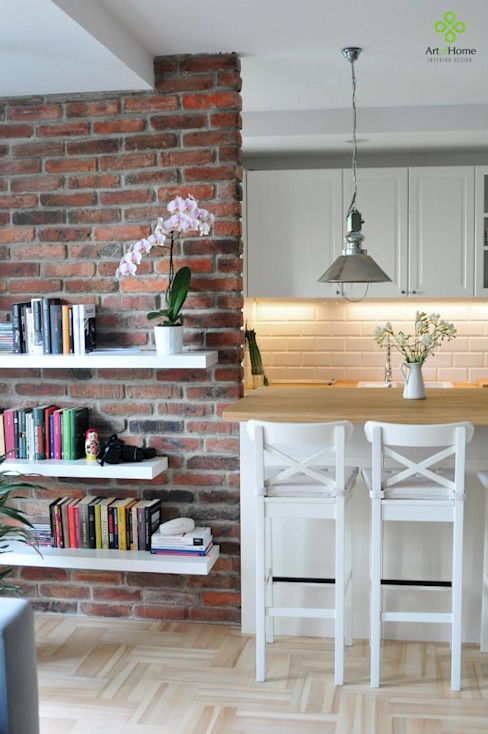 Paredes y pisos modernos de Art of home Moderno