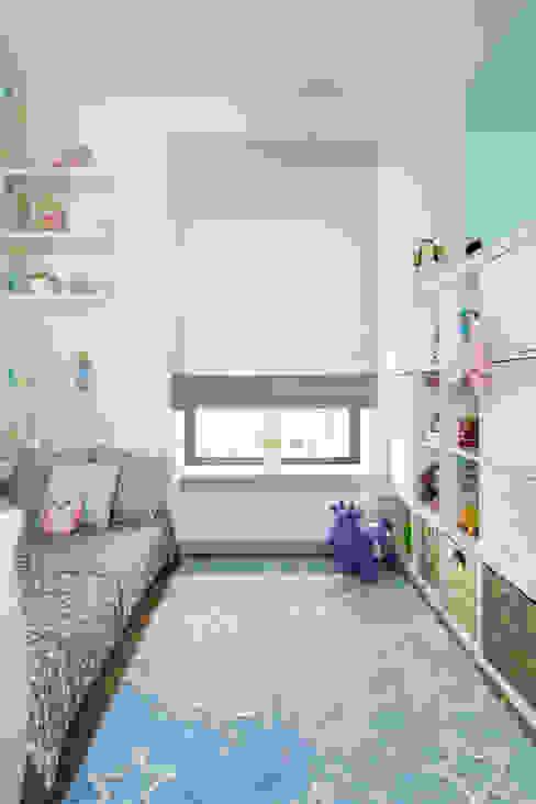 Warszawa - mieszkanie z nutką klasyki: styl , w kategorii Pokój dziecięcy zaprojektowany przez Art of home,Nowoczesny
