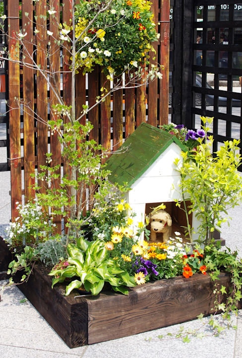 Eclectic style gardens by Green Style Forest Eclectic