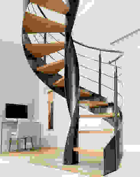Escalier PH Couloir, entrée, escaliers originaux par Atelier MaDe Éclectique