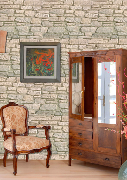Country style walls & floors by homify Country Chipboard