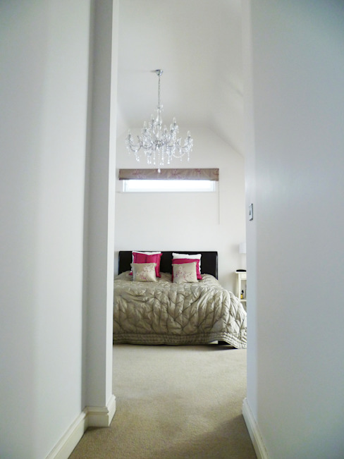 Streamside Close, Timperley, Altrincham Modern style bedroom by Capra Architects Modern