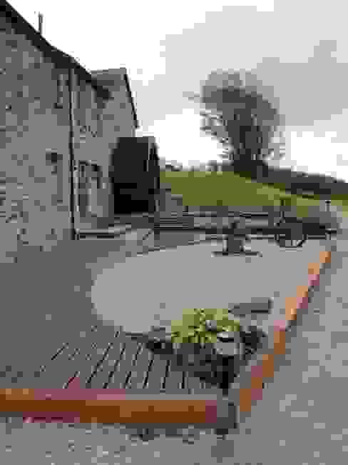 Melin Esgob, Llannerch-y-Medd, North Wales Rustic style houses by Capra Architects Rustic