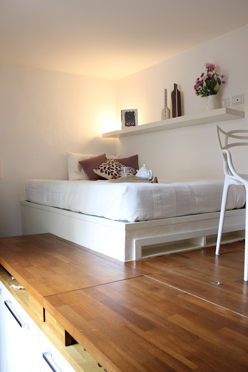Arch. Silvana Citterio Modern style bedroom
