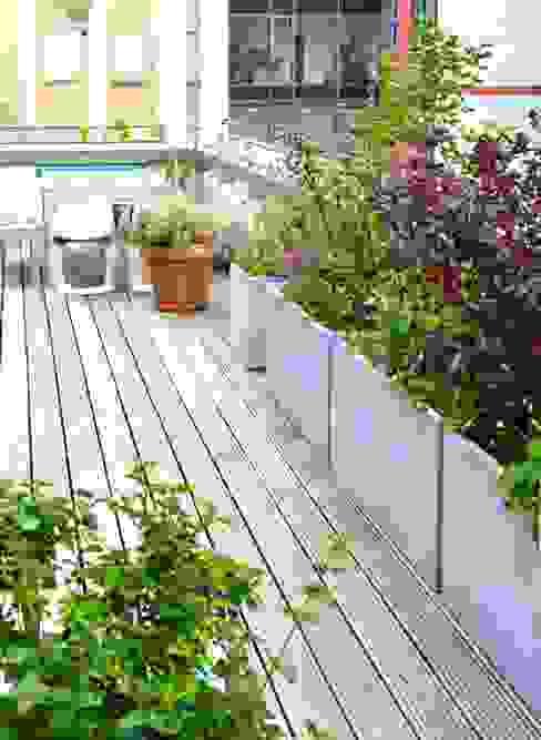 Balkon, veranda & terras van Nelka