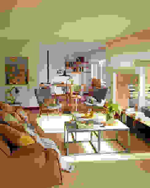 Salas de estar escandinavas por BONBA studio Escandinavo