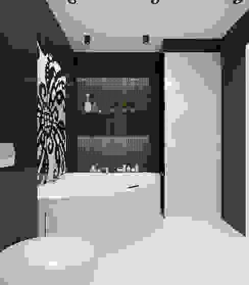 Квартира 120м2 в г. Казань Ванная комната в стиле минимализм от PlatFORM Минимализм