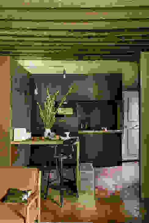 Projekty,  Kuchnia zaprojektowane przez dmesure, Industrialny