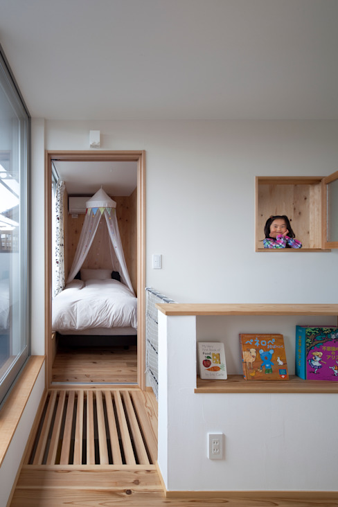 Eclectic style nursery/kids room by C lab.タカセモトヒデ建築設計 Eclectic