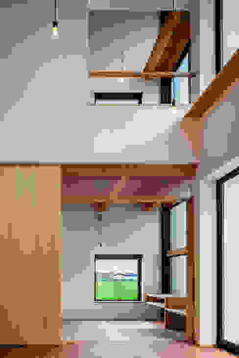 HouseYM Nowoczesne domy od FUMIHITO OHASHI ARCHITECTURE STUDIO Nowoczesny