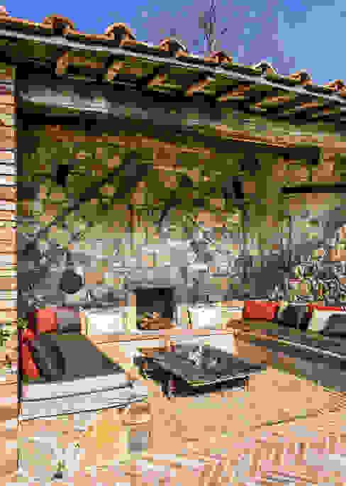 Terrazas de estilo  por dmesure, Mediterráneo