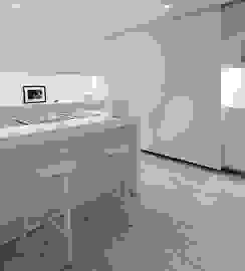 Habitation Privée Vieux-Lille Cuisine moderne par mayelle architecture intérieur design Moderne