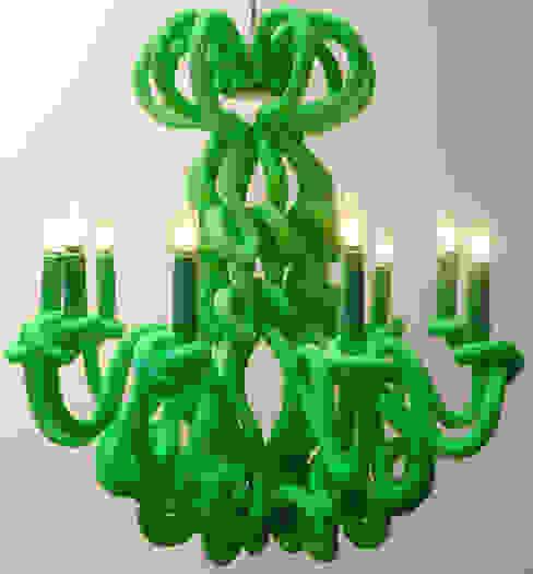 Lustre Medusa par Padedesign Éclectique