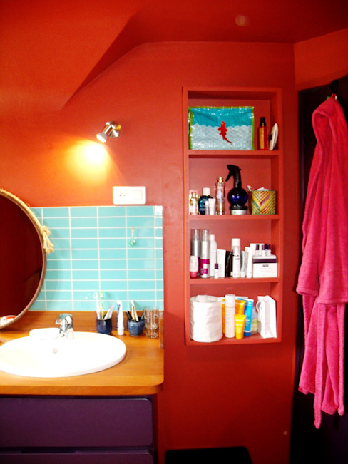 Eclectic style bathroom by la menuis' Eclectic