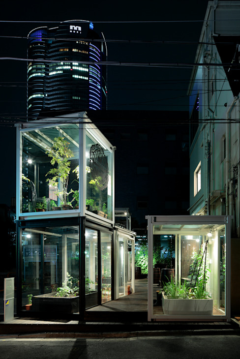 Roppongi Nouen FARM Modern Bahçe OnDesign Modern