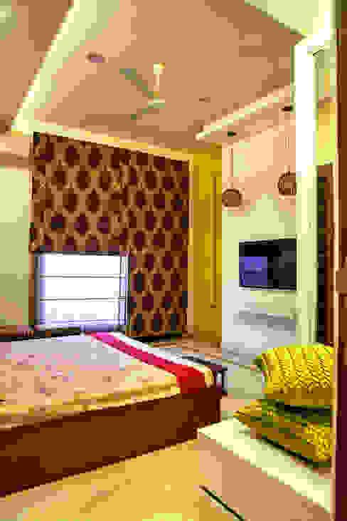 Bedroom Minimalist houses by Studio An-V-Thot Architects Pvt. Ltd. Minimalist