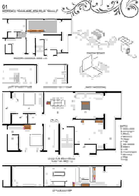 Details Minimalist houses by Studio An-V-Thot Architects Pvt. Ltd. Minimalist